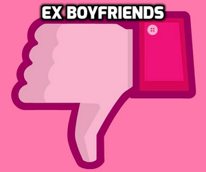 boyfriend, ex, and pink image