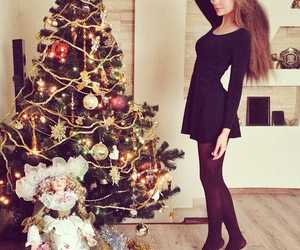 christmas, newyear, and dress image