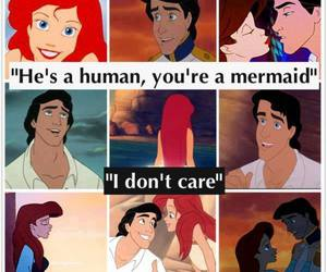 ariel, disney, and human image