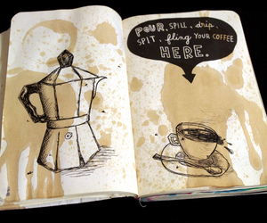 coffee and wreck this journal image
