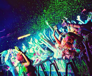 party, music, and colors image