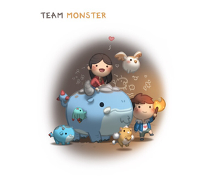 adorable, monster, and hjstory image