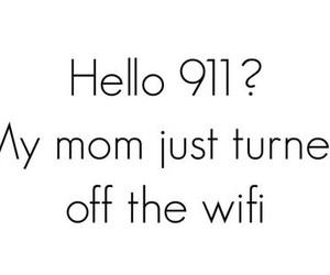 wifi, 911, and lol image