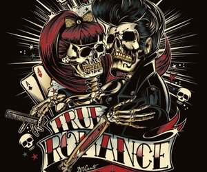 rock n roll, rockabilly, and romance image