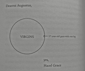 john green, tfios, and augustus waters image