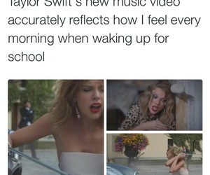 school, Taylor Swift, and funny image