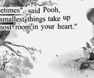 quote, pooh, and love image