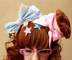 accessories, ribbon, and fashion image