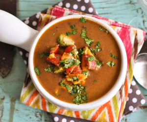 soup, beans, and black bean image