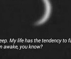 deep, moon, and quote image