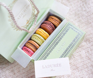 macarons, paris, and sweet image