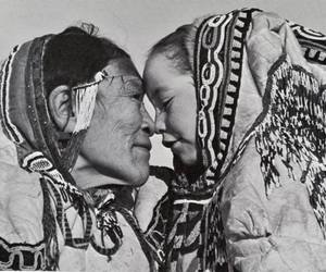 family, inuit, and native image