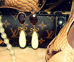 Louis Vuitton, shoes, and accessories image
