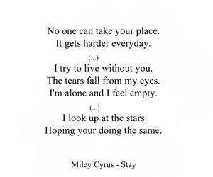 alone, empty, and Lyrics image