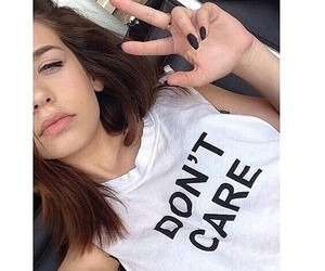 girl, don't care, and grunge image
