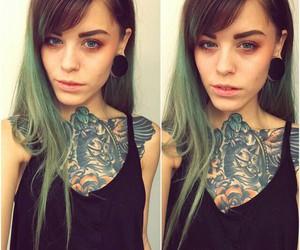 alternative, beautiful, and blue eyes image