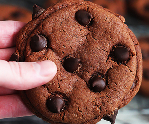 baking, chocolate, and chocolate chips image