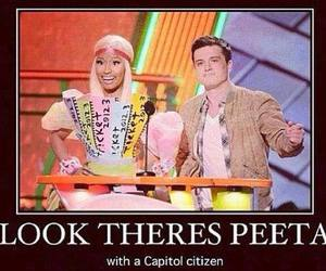 capitol, peeta, and hunger games image