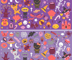 cute, candy, and Halloween image