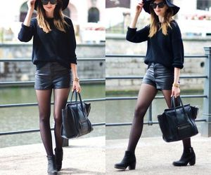 ankle boots, fashion, and hat image