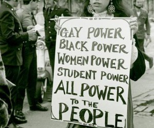 power, gay, and black image