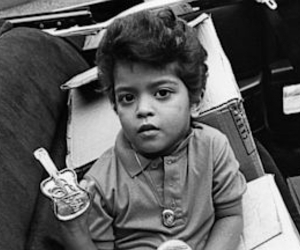 bruno mars and baby image