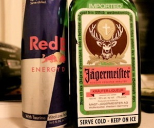 alcohol and redbull image