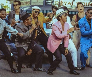 bruno mars, mark ronson, and song image
