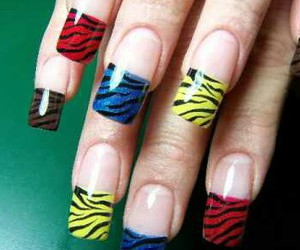 cool, nice, and nails image