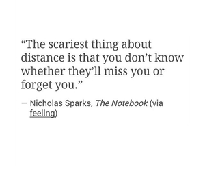 distance, life, and miss you image