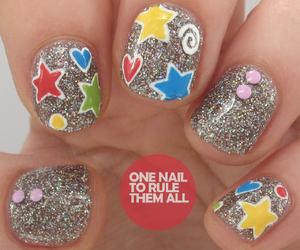 nails, stars, and dots image