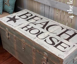 beach, cottage, and decor image