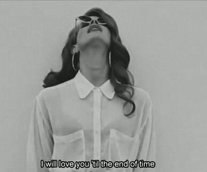 lana del rey, love, and quote image