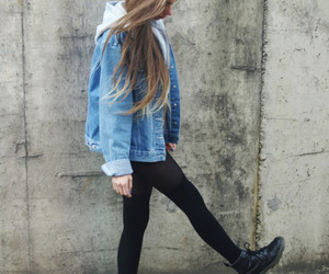 girl, style, and grunge image