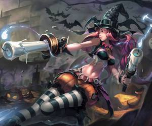 league of legends, Halloween, and miss fortune image
