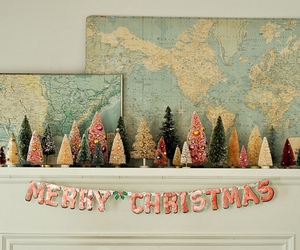christmas, maps, and merry christmas image