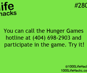 hunger games and life hacks image