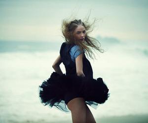 girl, beach, and tutu image