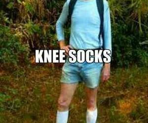 knee socks, arctic monkeys, and funny image