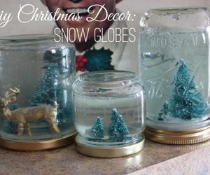 diy, christmas, and snow image
