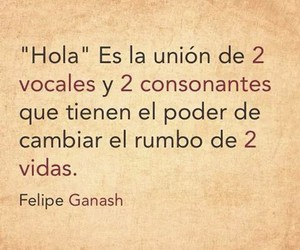 frases, love, and hola image