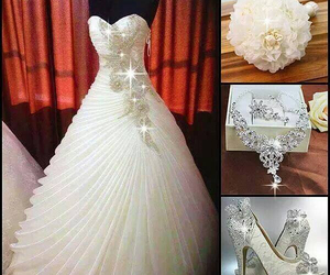 married, vestido, and hermoso image