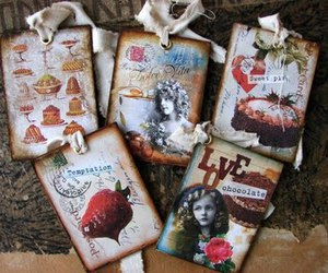 cake, chocolate, and scrapbooking image