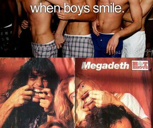 boys, dave mustaine, and megadeth image