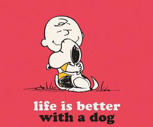 dog, life, and snoopy image