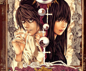 anime, death note, and naomi misora image