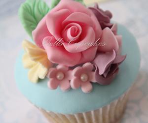 cupcake, pastel, and cake image
