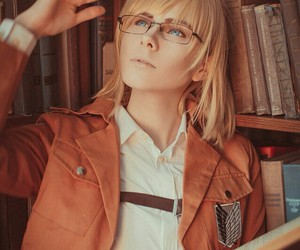 cosplay, attack on titan, and armin image