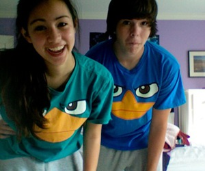 :), perry the platypus, and friends image