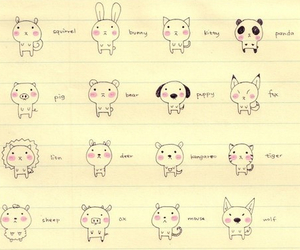 cute, animal, and kawaii image